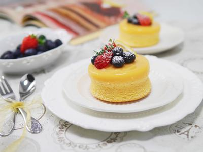 檸檬布丁蛋糕