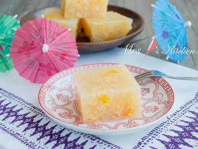蛋花燕菜糕