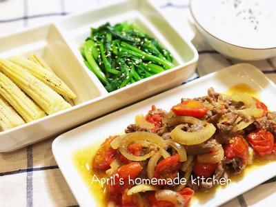 用電子鍋同時出3道菜+飯!