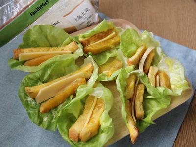 萵苣薯條法式吐司