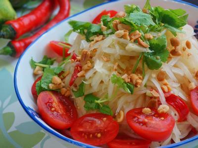 夏日開胃菜 涼拌青木瓜