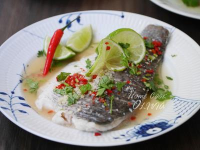 小廚娘❤泰式檸檬魚#電鍋版
