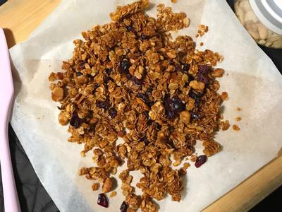 世界簡單自製烘烤燕麥穀片Granola