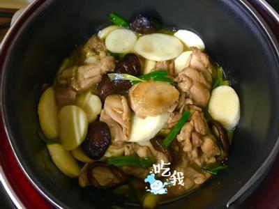 茭白筍香菇醬汁雞【大同高質內鍋】