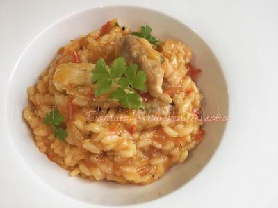 番茄雞肉燉意大利飯