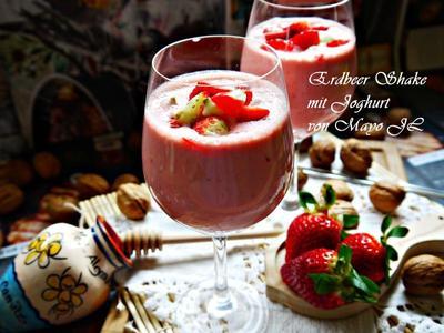 草莓優格雪克