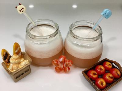 草莓優格乳清果汁