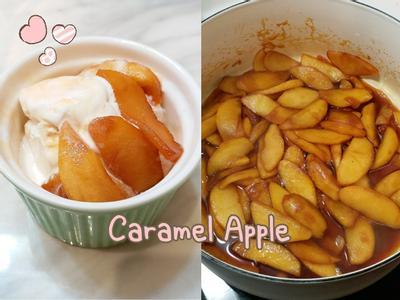 自製焦糖蘋果醬~超簡單!幫甜點大加分