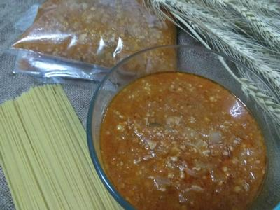 自製冷凍紅醬─要吃紅醬義大利麵隨時上桌