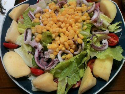 夏日爽朗義式沙拉