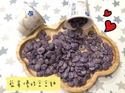 (寶寶點心)藍莓優格豆豆餅乾