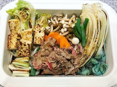 日式牛肉壽喜燒鍋