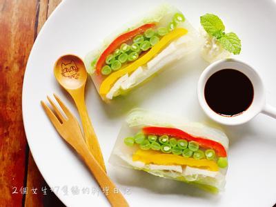 新鮮野菜糕