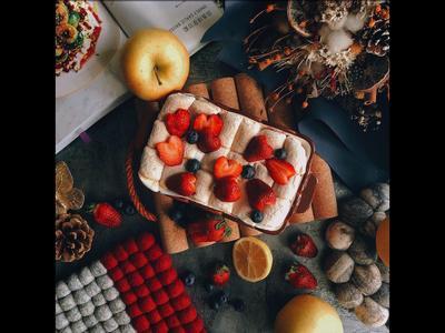 聖誕節餐桌之飯後甜點➰棉花糖烤地瓜🍠