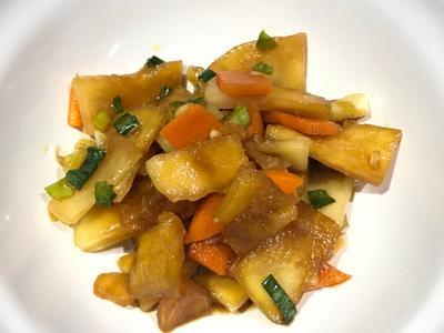👨🏻🍳涼拌醃大頭菜