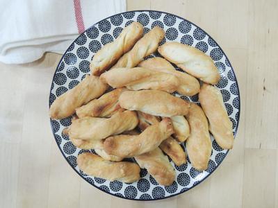 玫瑰鹽義式麵包短棒