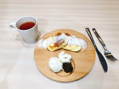日式舒芙蕾+手工果醬