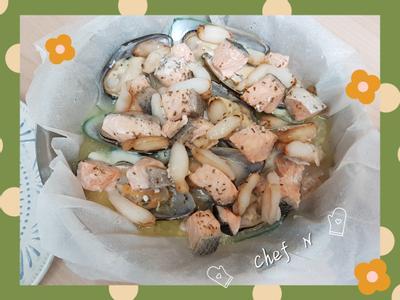【紙包海鮮】電鍋輕鬆料理