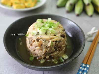 杏鮑菇菇瓜仔肉(熱量低一點)
