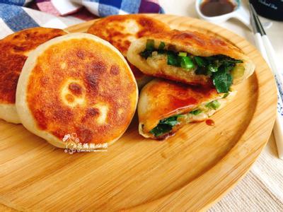 五香蔥餡餅(中式麵點)