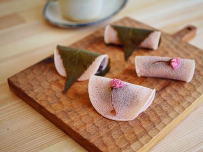 關東風櫻餅-日式和菓子