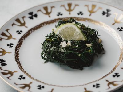 低醣料理 <蔬菜> 白酒檸香炒蒔蘿
