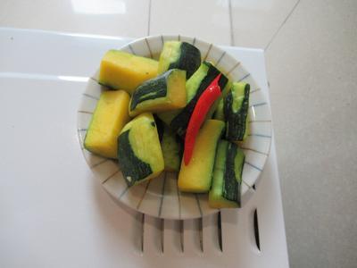 蒜香菜南瓜