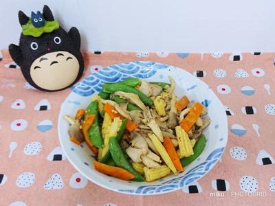XO醬炒蔬菜