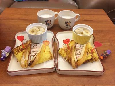 早餐_法式鮮奶起司吐司