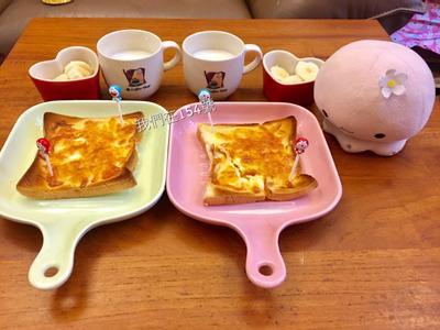 早餐-焗烤吐司蛋