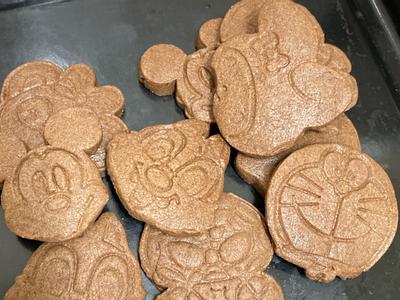 簡易壓模造型餅乾