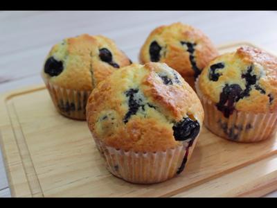 藍莓馬芬blueberry muffin