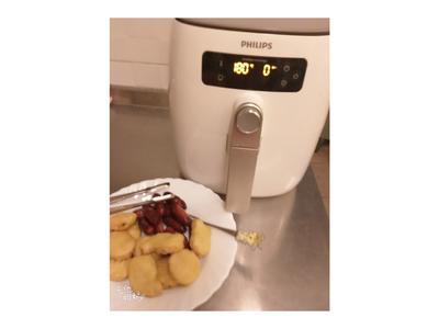 飛利浦氣炸鍋-酥炸雞塊香腸-秀水門市