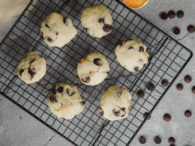 低糖甜點 <餅乾> 低糖巧克力豆餅乾