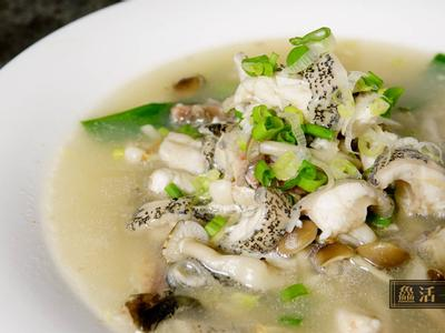 鮮菌奶白龍虎魚湯