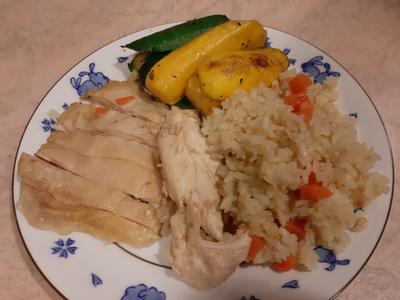 零廚藝便當菜-海南雞飯
