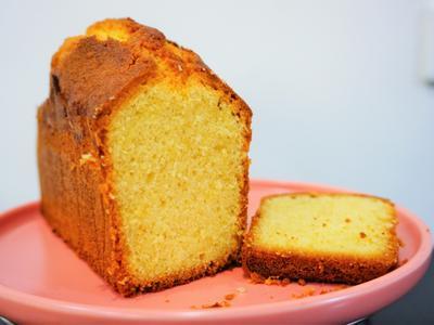 磅蛋糕(法國綠色山丘發酵奶油綠花三製作)