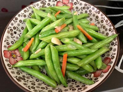 飛利浦萬用鍋-清炒四季豆