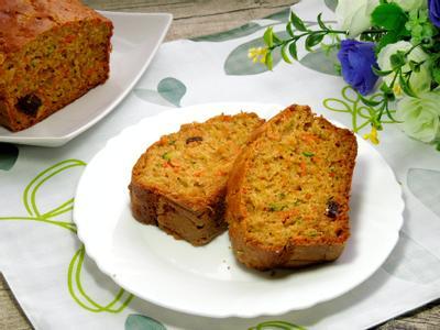 櫛瓜紅蘿蔔蛋糕