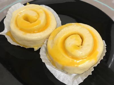 *中式點心-爆漿起司饅頭