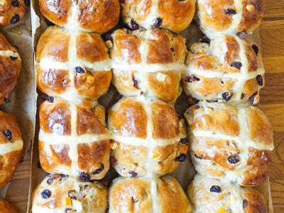 復活節十字小餐包