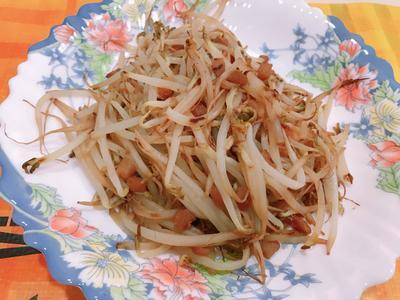 菜脯香豆芽菜