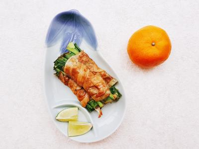 【低蛋白輕鬆吃】香Q豬肉捲
