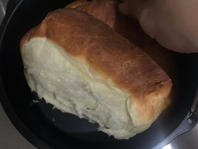 氣炸鍋牛奶吐司