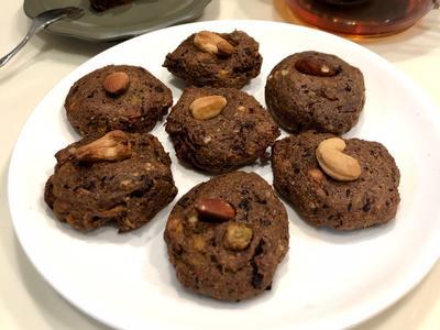 健康零失敗•巧克力地瓜布朗尼-無糖無奶