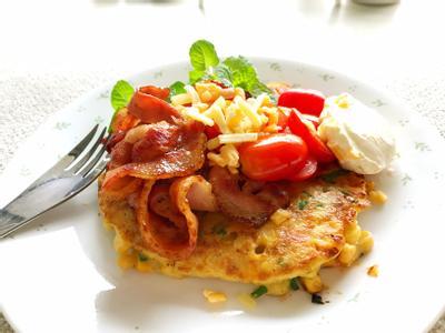 早午餐-五彩煎餅