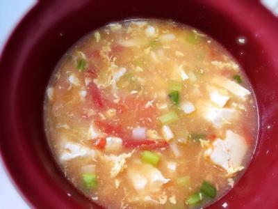蕃茄豆腐湯麵(懶人做法)
