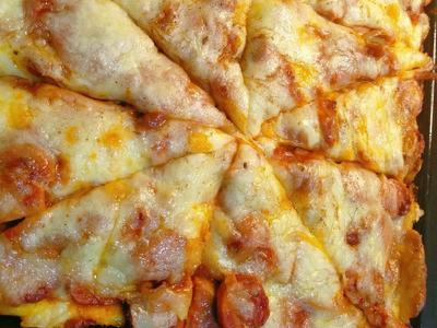 超简单土司披萨!