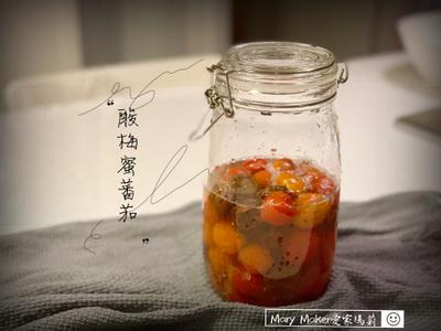消暑聖品!自製梅子蜜蕃茄
