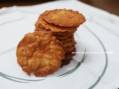 杏仁瓦片(茉莉麻親子廚房)